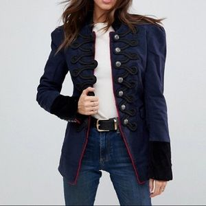 FREEPEOPLE seamed and structured blazer